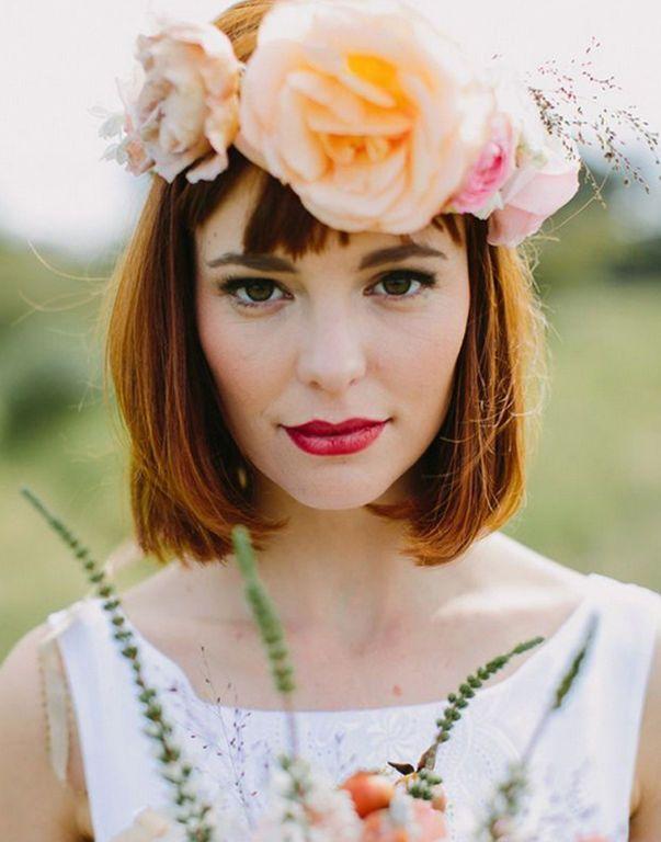 Các kiểu tóc đẹp nhất mọi thời đại cho cô dâu tóc ngắn