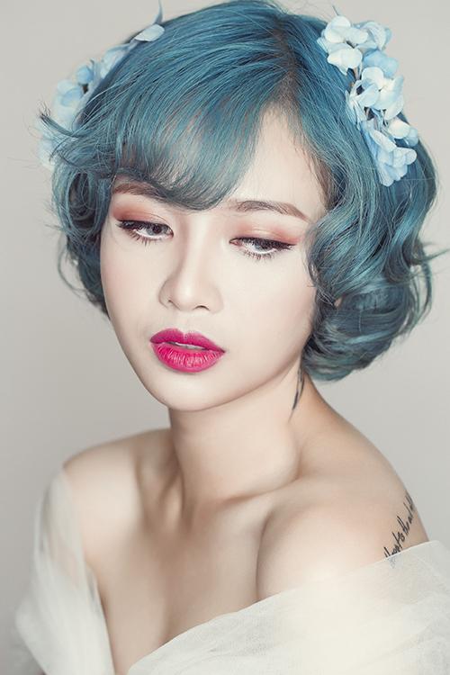 Style make up cá tính cho 'cô dâu nổi loạn'