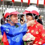Lễ cưới tập thể của 100 cặp đôi trong ngày Quốc khánh