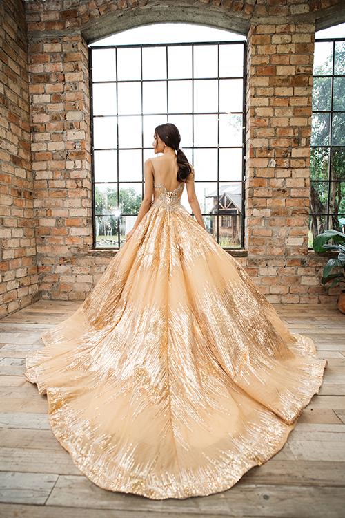 Ba sắc màu váy cưới trẻ trung dành cho cô dâu