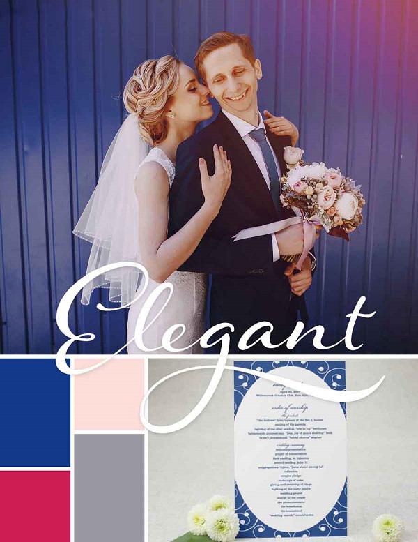 8 xu hướng phối màu trang trí tiệc cưới theo mùa nổi bật năm 2018